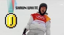 La descente de la médaille d'or de Shaun White manquait de Super