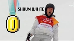 Someone Gave Shaun White's Gold Medal Run The Super Mario