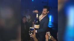 Compra uno champagne da 34mila euro per festeggiare il compleanno. Ma la presa lo