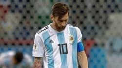 Cachondeo en Twitter por un detalle en esta foto de Messi ante a