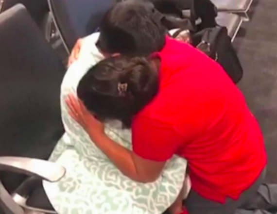 Guatemalan boy reunites with mom in Maryland