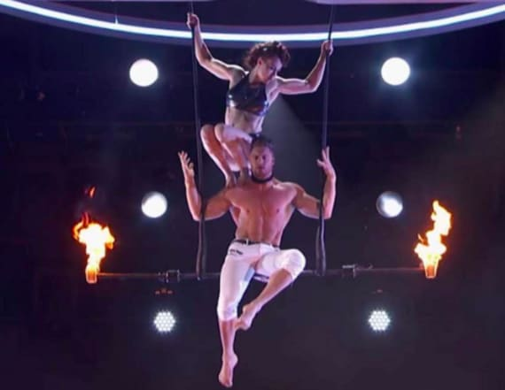'AGT' trapeze artists explain stunt gone wrong