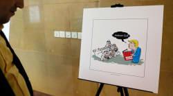 À Téhéran, une exposition de dessins se moque du président américain