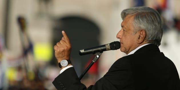Andrés Manuel López Obrador, presidente electo de Mexico.