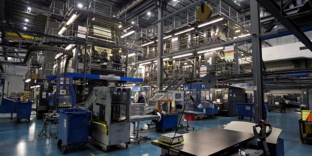 Image de l'imprimerie TC Transcontinental à Montréal.