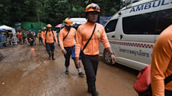 Rescue Divers Enter Thailand Cave For 3rd Consecutive Day To Free Remaining
