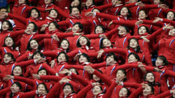 North Korea's Olympic Cheer Squad Is Creeping People