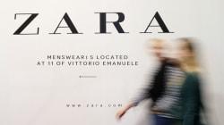 Las prendas de Zara de Estambul se llenan de etiquetas de