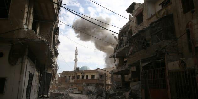 La Ghouta orientale, dernière poche rebelle près de Damas, qui vit l'enfer des bombes de Bachar Al-assad