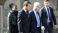 Emmanuel Macron a assisté aux obsèques de Corinne