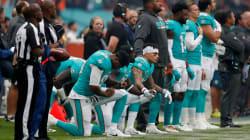 Los Dolphins castigarán a los jugadores que se hinquen durante