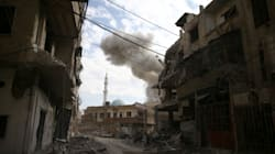 La Ghouta orientale, dernière poche rebelle près de Damas, qui vit l'enfer des bombes