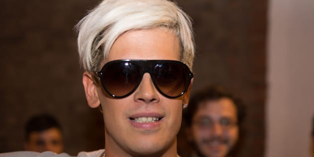 LONDON, UNITED KINGDOM - AUGUST 17: Milo Yiannopoulos  attends the Young British Heritage Society launch event, his first British appearance since being banned from Twitter on August 17, 2016 in London, England.  PHOTOGRAPH BY  Darragh Mason Field / Barcroft Images  London-T:+44 207 033 1031 E:hello@barcroftmedia.com - New York-T:+1 212 796 2458 E:hello@barcroftusa.com - New Delhi-T:+91 11 4053 2429 E:hello@barcroftindia.com  www.barcroftmedia.com (Photo credit should read Darragh Field / Barcroft Images / Barcroft Media via Getty Images)