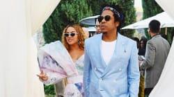 Avant les Grammys, la tenue très remarquée de Jay-Z et