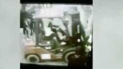 Les images de l'intrusion de manifestants au ministère de