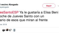 El tremendo corte de Elisa Beni a este tuitero que la