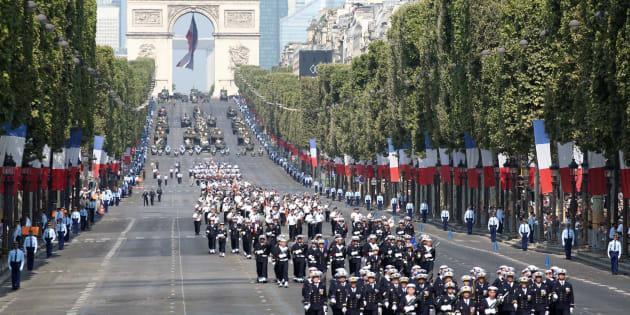 14 juillet 2018: revivez le défilé militaire sur les Champs-Élysées