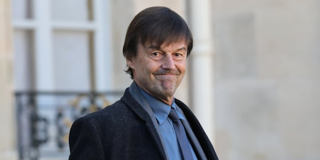 Nicolas Hulot à l'Elysée le 22 novembre 2017.