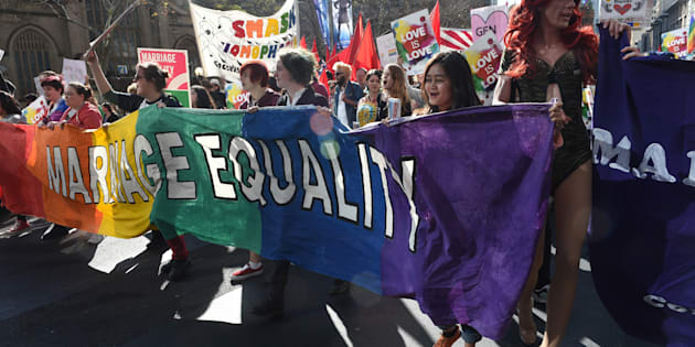 """""""The LGBTI community has said overwhelmingly in a recent survey that it can wait for marriage equality if it means avoiding a plebiscite."""""""