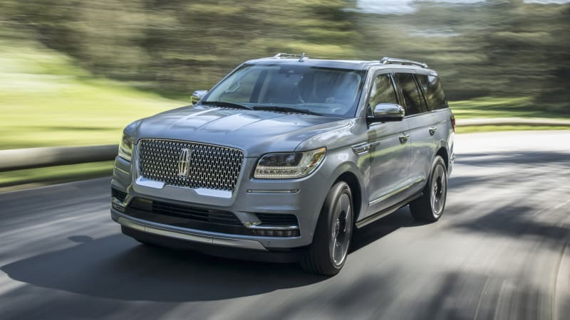 2018 Lincoln Navigator Black Label Drivers