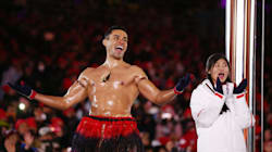 Tonga's Flag-Bearer Had Clothes On For Closing Ceremony. No,