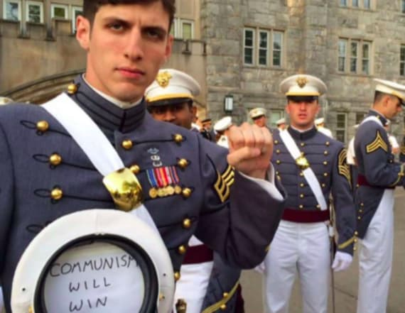 Controversial West Point grad gets discharged
