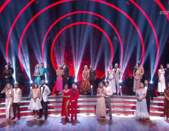 'Dancing With the Stars' eliminates first contestant