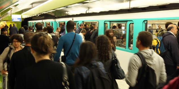 À Paris, un agresseur sexuel en série dans le métro arrêté  (Photo d'illustration).