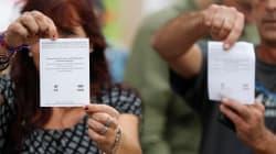 Plus de la moitié des bureaux de vote du référendum en Catalogne mis sous