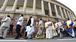 Stopped From Raising Govt Formation Issue In Lok Sabha, Congress, NCP, RJD Stage