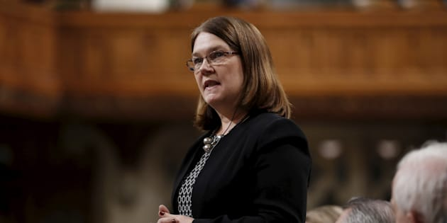 Canada's Health Minister Jane Philpott speaks during Question Period in the House of Commons on Parliament Hill in Ottawa, Canada, January 28, 2016.