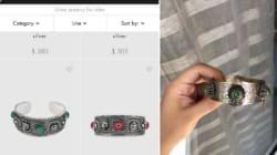 Ce bracelet Gucci à 890$ ressemble à s'y méprendre aux bracelets berbères du
