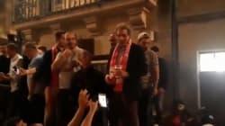 Bourdin, bière à la main, ovationné dans les rues de Nîmes après la montée du club en