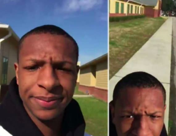Student who walked out alone in March has company