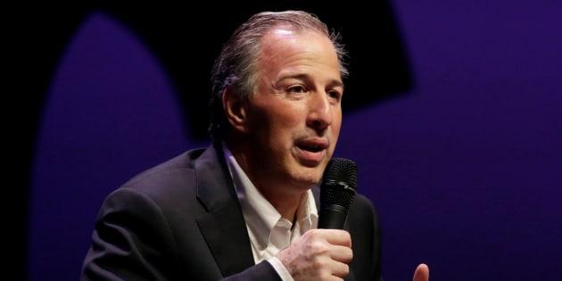 El candidato priista a la presidencia, José Antonio Meade.