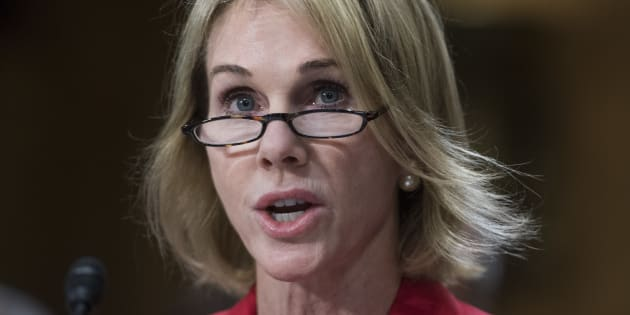Kelly Knight Craft, nominee to be ambassador to Canada, attends her Senate Foreign Relations Committee confirmation hearing in Washington, D.C. on July 20, 2017.