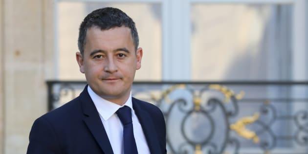 Gérald Darmanin à l'Élysée le 14 novembre 2018.