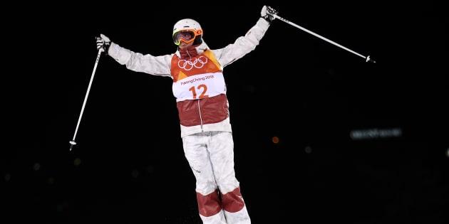 Justine Dufour-Lapointe gagne la médaille d'argent à Pyeongchang
