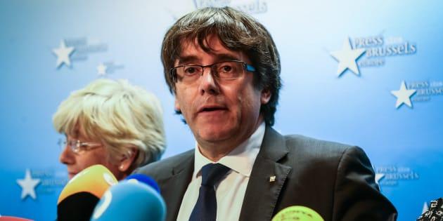 Catalogne: le parquet de Bruxelles ouvre la voie à une arrestation de Carles Puigdemont