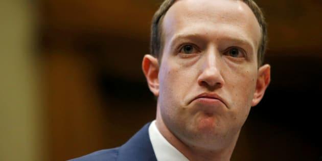 Facebook CEO Mark Zuckerberg testifies before U.S. lawmakers on Capitol Hill in Washington, D.C. April 11, 2018.