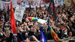 Près de 130 interpellés dans la manifestation parisienne, dont 101 durant l'occupation d'un