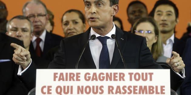 Manuel Valls se déclare candidat à la primaire de la gauche (illustration)