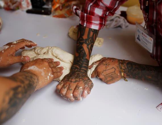 From gang member to baking master