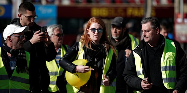 La tête de liste des gilets jaunes, Ingrid Levavasseur, a récemment pris du recul alors que la mobilisation du mouvement s'essouffle de week-end en week-end.