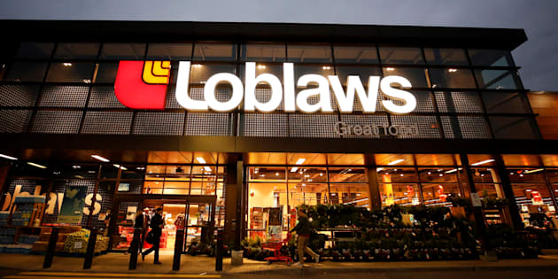 A Loblaw supermarket is pictured in Ottawa, Nov. 14, 2017.