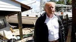 Pour Trump, l'ouragan Florence était «l'un des plus humides, du point de vue de