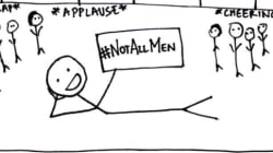 These Stick Figures Have The Perfect Response To The Imbecilic #NotAllMen