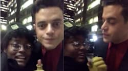 Rami Malek Rejects Fan's Plea In Hilariously Awkward Viral