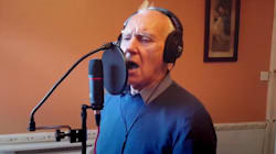 Teddy, 81 anni, è malato di Alzheimer, ma questo non gli ha impedito di incidere il suo primo