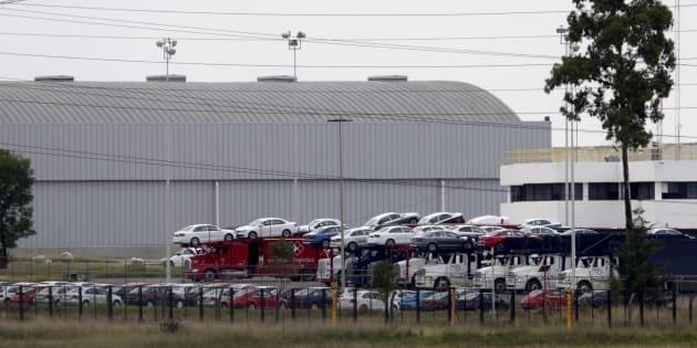 La planta de fabricación de automóviles Volkswagen (VW) en Puebla, en una foto fechada el 21 de septiembre de 2015.